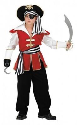 Fato Menino Pirata