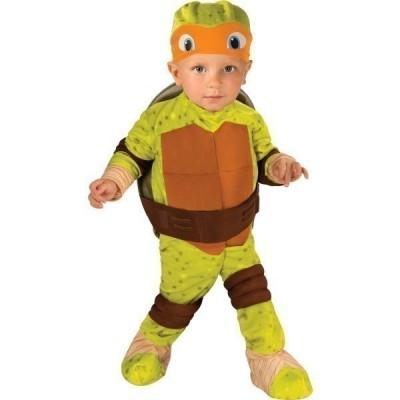 Fato Miguel Angelo Tartarugas Ninja bebé