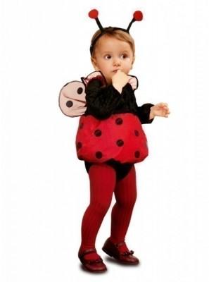 Fato Mini-Joaninha para bebé