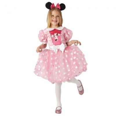 Fato Minnie Mouse Pink Glitz