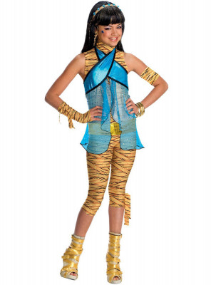 Fato Monster high  Cleo de Nilo
