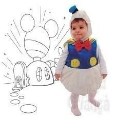 Fato Pato Donald Bebé