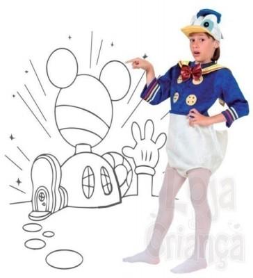 Fato Pato Donald