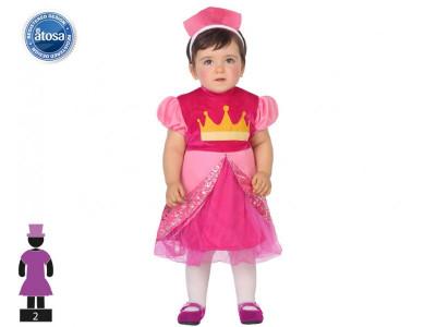 Fato Princesa Rosa Bebé
