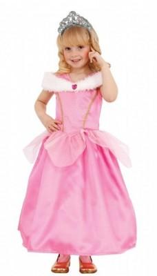 Fato Princesa Rosa