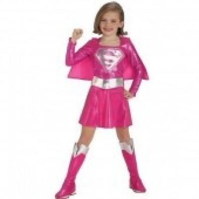 Fato Rosa Supergirl