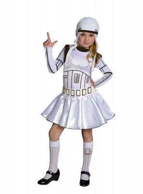 Fato Stormtrooper Star Wars menina