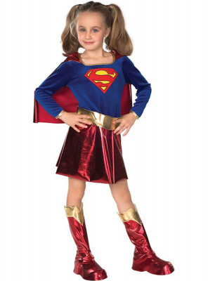 Fato Supergirl deluxe