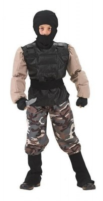 Fato Tropa Special Forces Musculos