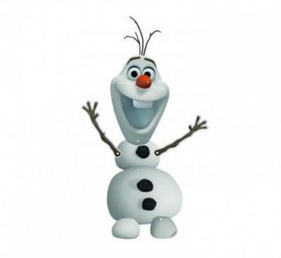 Figura articulada Olaf  55cm