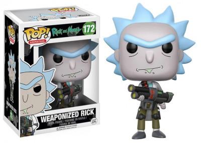 Figura Funko POP! Rick and Morty - Weaponized Rick