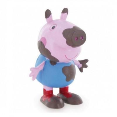 Figura George com Lama Porquinha Peppa