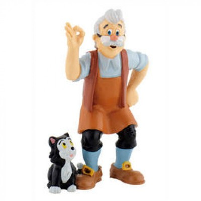 Figura Gepetto Disney Pinoquio