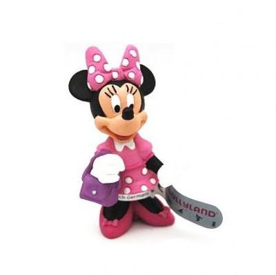 Figura Minnie com mala 7cm
