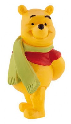 Figura Winnie The Pooh Inverno
