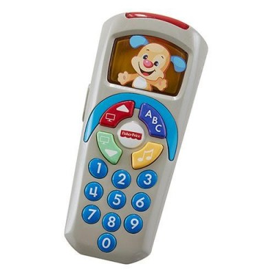 Fisher Price Comando de TV Aprender e Brincar