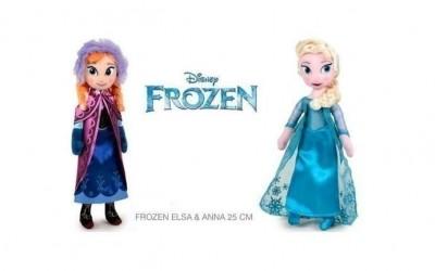 Frozen Peluche Sortido Elsa ou Anna