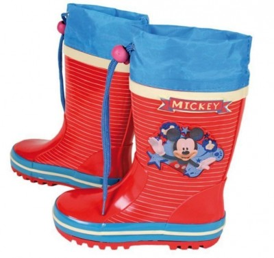 Galochas Botas disney mickey