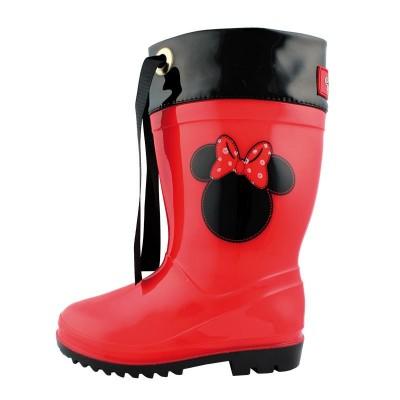 Galochas chuva Disney Minnie
