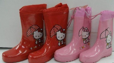Galochas Hello Kitty 2 cores
