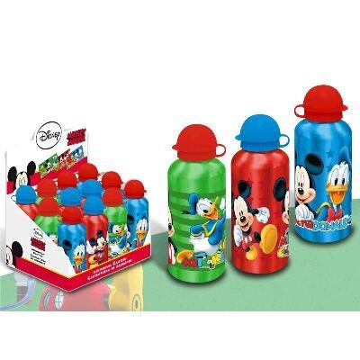Garrafa Aluminio Mickey e Donald