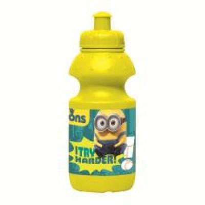 Garrafa Amarela Plastico Minions 350 ml
