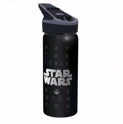 Garrafa Premium Alumínio Star Wars 600ml
