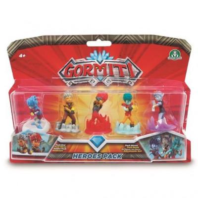 Gormiti Blister 5 Figuras Heroes Pack