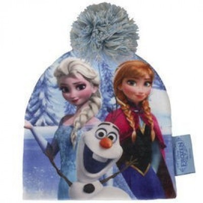 Gorro c/ pompom Frozen