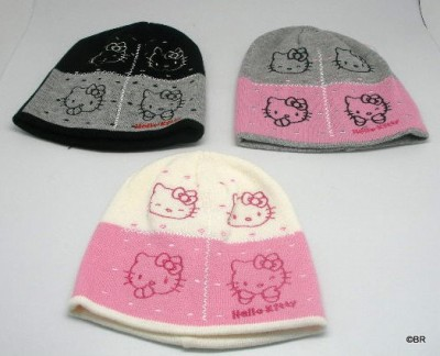 Gorro Hello kitty 3 cores