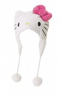 Gorro hello kitty pom pom