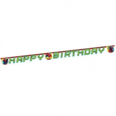 Grinalda Happy Birthday Spiderman