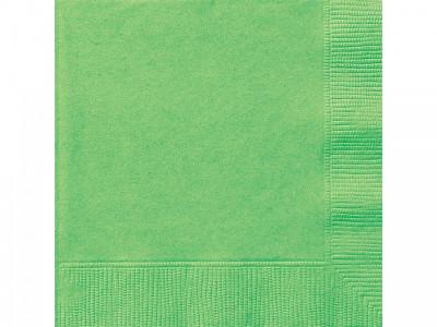 Guardanapos Cocktail Verde Lima - 20 Und