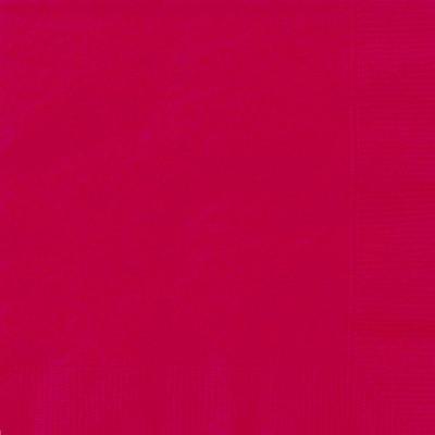 Guardanapos Vermelho - 20 Und