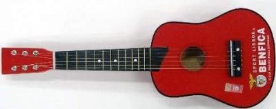 Guitarra pequena com logo Benfica 63.5cm