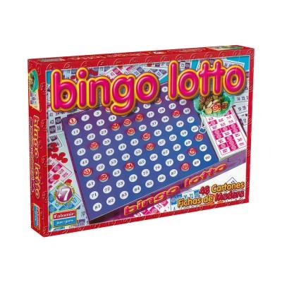 Jogo Bingo Lotto 7+