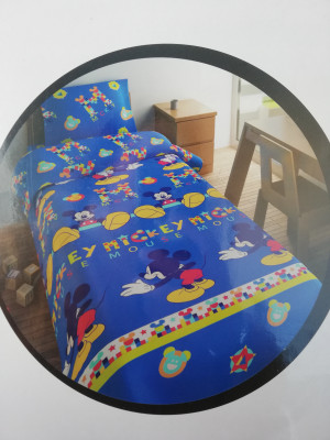 Jogo cama termico Mickey Mouse
