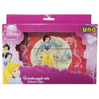 Jogo cubos Princesas Disney