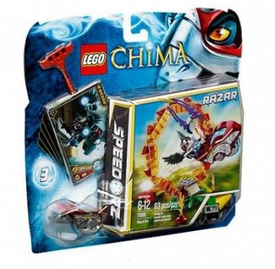Jogo Lego Chima Anel de Fogo (Speedorz)
