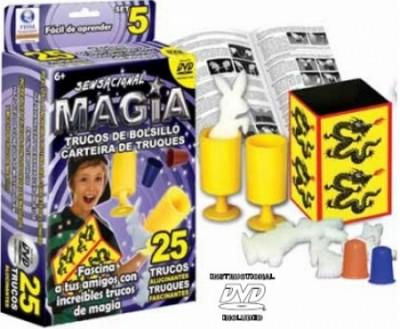 Jogo Magia 5 c/25 Truques