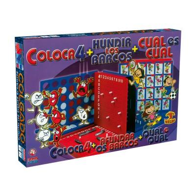 Jogo Pack 3 Jogos Divertidos 6+