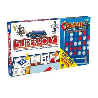Jogo Superpoly + 4 em Linha 8+