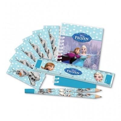 Kit Brindes Papelaria Frozen 20 Peças
