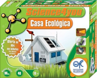 Kit Casa Ecológica-Science4you