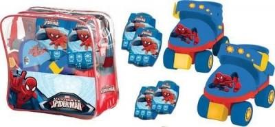 Kit Patins Spiderman c/ bolsa