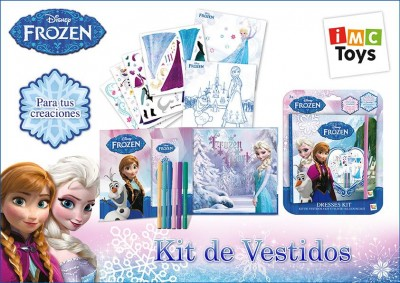 Kit Vestidos Disney Frozen