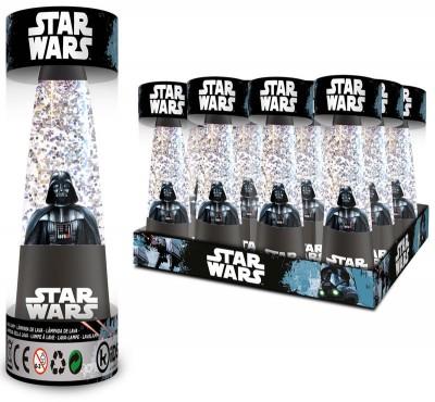 Lâmpada glitter Star Wars