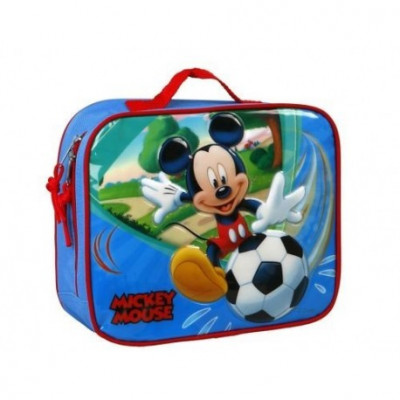 Lancheira termica Mickey Futebol