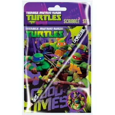 Lápis e Afiador Tartarugas Ninja