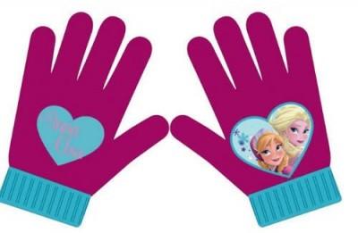 Luvas Magicas Frozen Sisters Pink